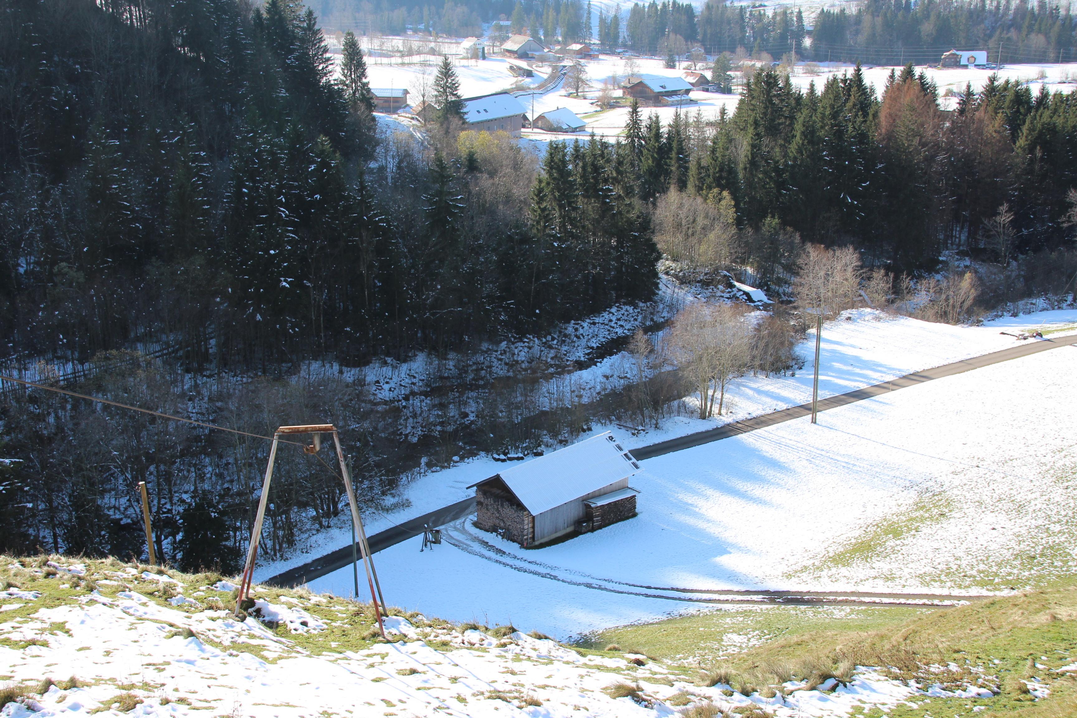 Seilbahn Chragenstrasse-Chrageberg, Flühli