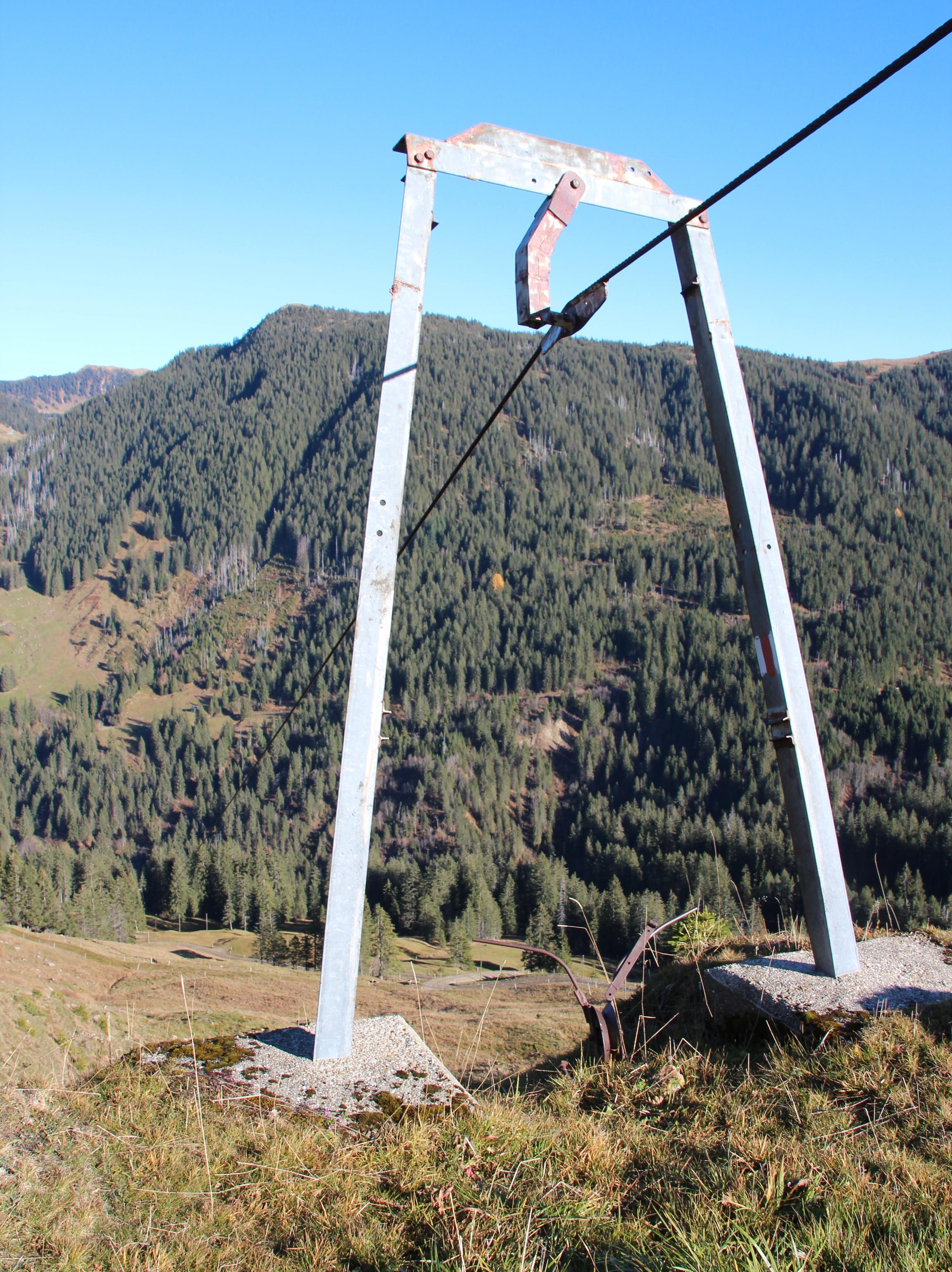 Seilbahn Gitziloch-Alp Rohr, Flühli